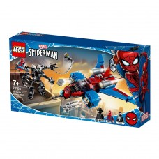 "LEGO Super Heroes Конструктор ""Спайдерджет проти робо"