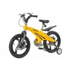 Детский велосипед Miqilong GN Желтый 16` MQL-GN16-Yellow