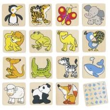 Игра мемо goki Жители зоопарка 56700