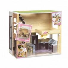Игровой набор - Деревянный дом LORI LO37004Z