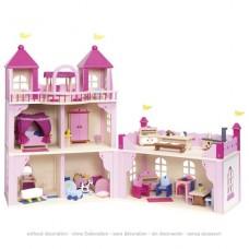 Кукольный домик goki Замок 2 этажа, закрывающийся 51772G