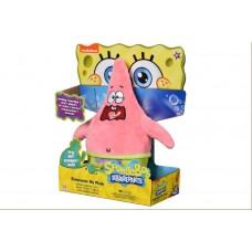 Мягкая игрушка SpongeBob Exsqueeze Me Plush Patrick Burp с