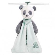 Nattou Мягкая игрушка Сумка для подгузников пандочка Лулу