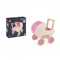 Коляска Janod Candy Chic для кукол J05886