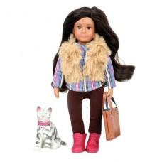 Кукла Lori 15 см Мария и кошка Мока LO31060Z
