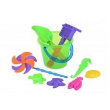 Набор для игры с песком Same Toy с Воздушной вертушкой (зе
