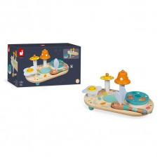 Развивающая игрушка Janod Pure Музыкальный столик J05164