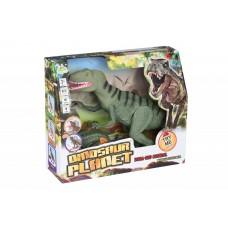 Динозавр Same Toy Dinosaur Planet зеленый со светом звуком