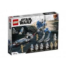 Конструктор LEGO Star Was Клоны-пехотинцы 501-го легиона 75280