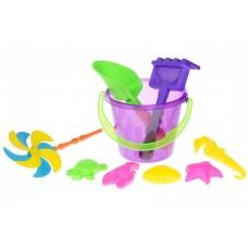 Набор для игры с песком Same Toy с Воздушной вертушкой (фи