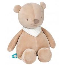 Nattou мягкая игрушка MINI мишка Базиль 5620342