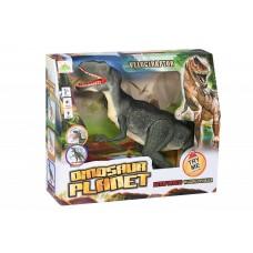 Динозавр Same Toy Dinosaur Planet зеленый со светом и звук