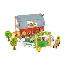 Игровой набор Janod Ферма с животными 3D J08577
