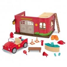 Игровой набор Lil Woodzeez Пожарная станция WZ6609Z
