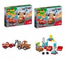 Конструктор LEGO Disney День гонки Молнии Мак-Квина 10924