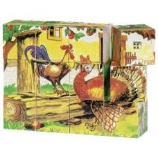 Кубики деревянные goki Ферма 57878G