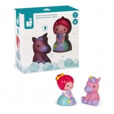 Набор игрушек для купания Janod Принцесса и единорог J0470