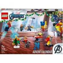 Новогодний календарь LEGO Marvel 76196