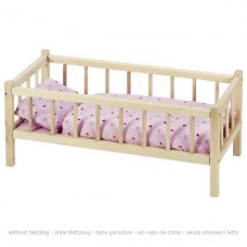 Кроватка для кукол goki с боковинками RA107G