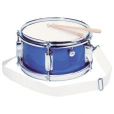 Музыкальный инструмент goki Барабан синий 14015