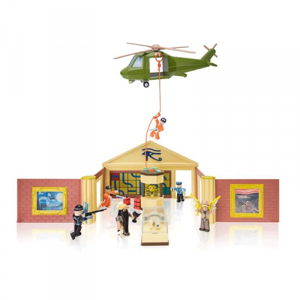 Игровая коллекционная фигурка Jazwares Roblox Deluxe Playset Jailbreak: Museum Heist W6 ROB0259