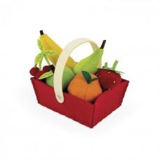 Игровой набор Janod Корзина с фруктами 8 ел. J06577