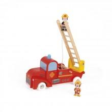 Машинка Janod Пожарный автомобиль J08574