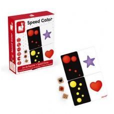 Настольная игра Janod Изучаем цвет J02699