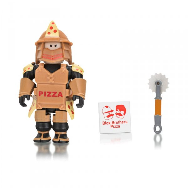 Игровая коллекционная фигурка Jazwares Roblox Core Figures Loyal Pizza Warrior W6 ROB0199