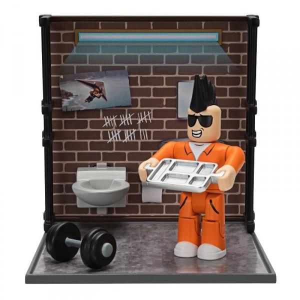 Игровая коллекционная фигурка Jazwares Roblox Desktop Series Jailbreak: Personal Time W6 ROB0260