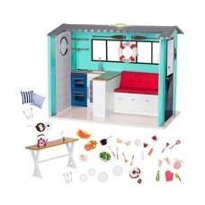 Игровой набор Our Generation Пляжный дом с аксессуарами BD