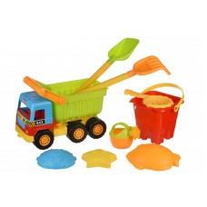 Набор для игры с песком Same Toy 9 ед. Самосвал 943Ut
