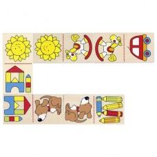 Настольная игра goki Мое первое домино 56696