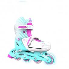 Роликовые коньки Neon Inline Skates Бирюзовый (Размер 34-3