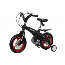 Детский велосипед Miqilong GN Черный 12` MQL-GN12-Black