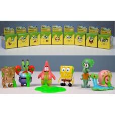 Игровая фигурка-сюрприз SpongeBob Slime Cube в ассорт.EU69