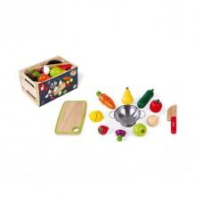 Игровой набор Janod Овощи и фрукты J06607