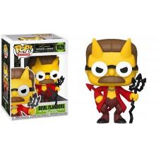 Коллекционная фигурка Funko POP! Vinyl: Simpsons: Devil Fl