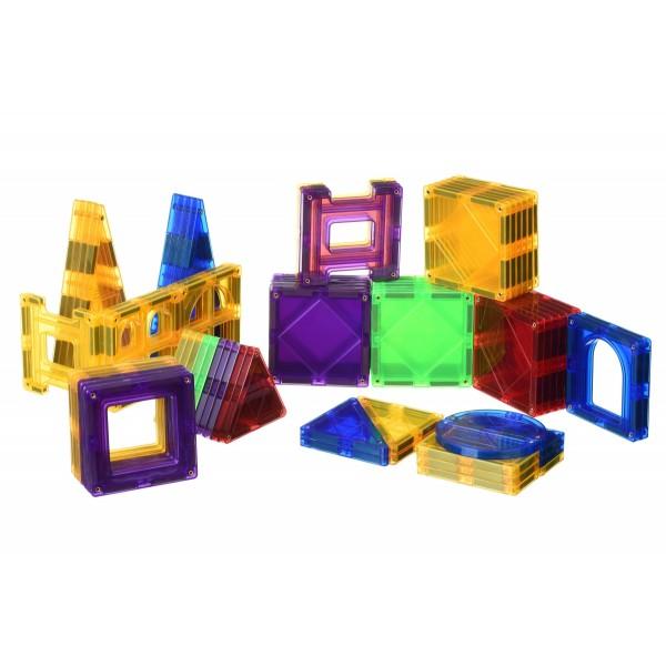 Конструктор Magplayer магнитные плитки 70 ел. MPL-70