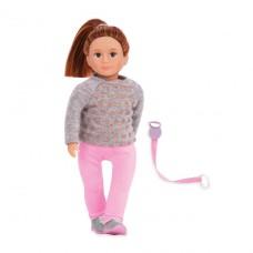 Кукла Lori 15 см Розалинда с поводком для выгула собак LO31113Z
