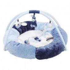 Nattou Развивающий коврик с дугами и подушками Алекс и Биб