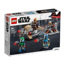 Конструктор LEGO Star Wars™ Боевой набор: мандалорцы 75267