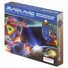 Конструктор Magplayer магнитный набор 30 эл. MPB-30