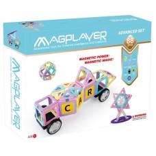 Конструктор Magplayer магнитный набор 88 эл. MPH2-88