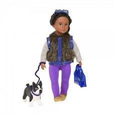 Кукла Lori 15 см Илисса и собака терьер Индиана LO31016Z