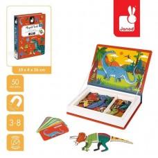 Магнитная книга Janod Динозавры J02590