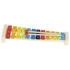 Музыкальный инструмент goki Ксилофон радуга 61907G