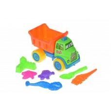 Набор для игры с песком Same Toy с Машинкой 7 шт HY-1303WU