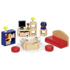 Набор для кукол goki Мебель для гостинной II 51749 G