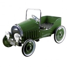 Педальная машинка goki Ретроавтомобиль 1939 зеленый 14073